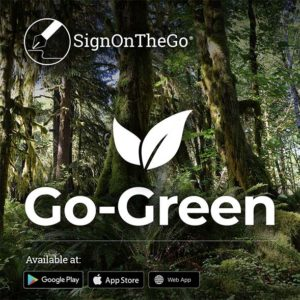 SignOnTheGo-esignature-post-go-green